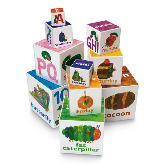 The Very Hungry Caterpillar Stacking/Nesting Blocks - Set of 10