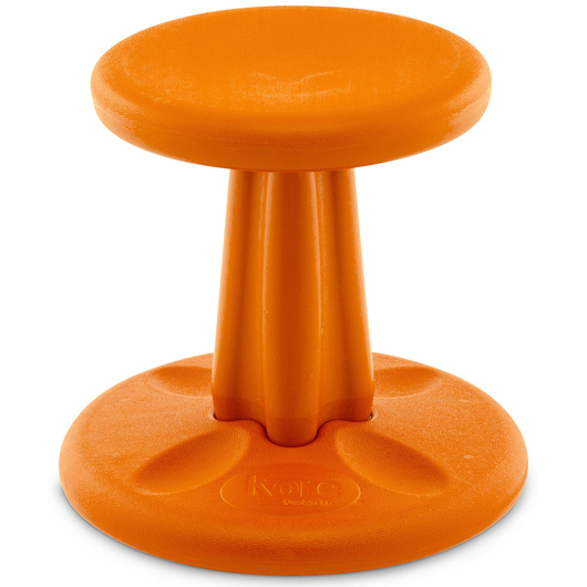 Kore™ Pre-School Wobble Chair - 12 in. H - Orange