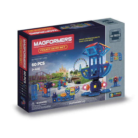 Magformers® Power Gear 60-Piece Set