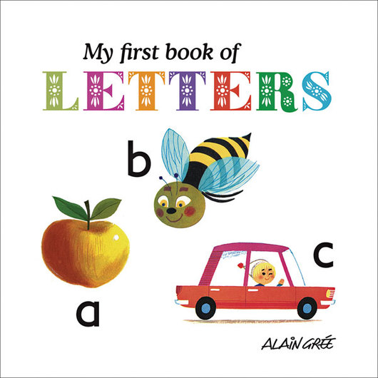 My First Book of Letters Board Book