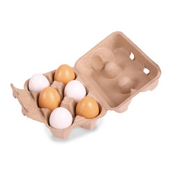 Six Eggs in Carton