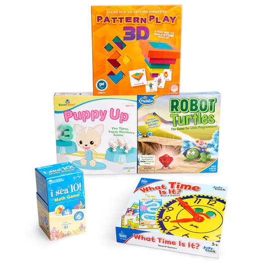 Early Math Games - Set of 4