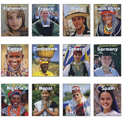 Cultures of the World Books - Set of 12