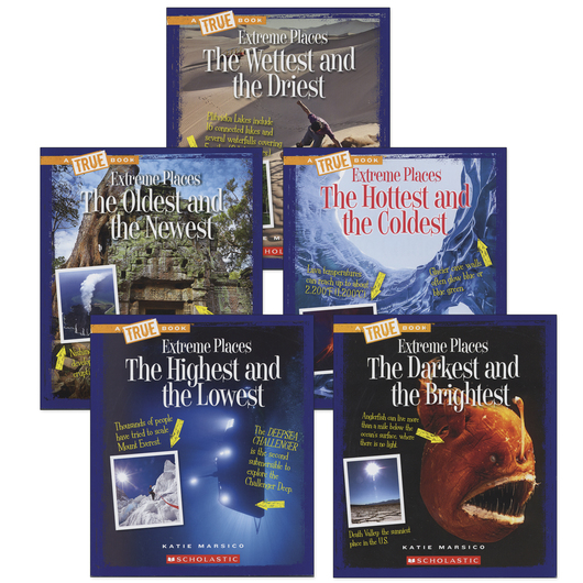 True Book™ Extreme Places - Set of 5