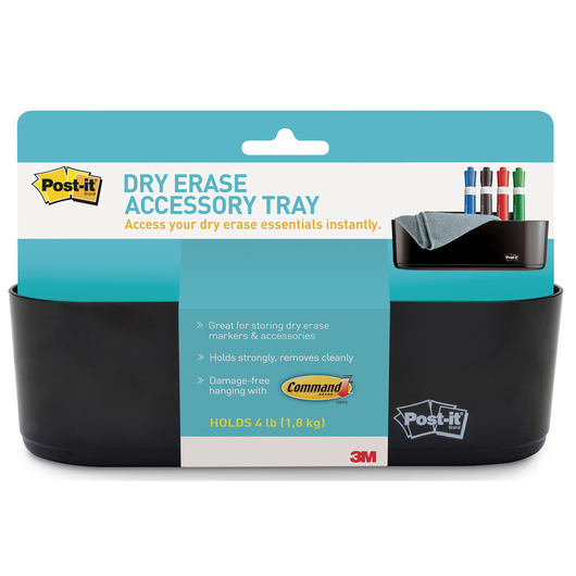 Post-it® Dry-Erase Accessory Tray