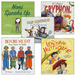 Kids Can Be Courageous, Collaborative, Imaginative, and Appreciative Books
