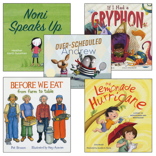 Kids Can Be Courageous, Collaborative, Imaginative, and Appreciative Books - Set of 5