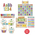 """Upcycle"" Decorator Package - Set of 9 Bulletin Board Packages"