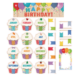 Happy Birthday! - Bulletin Board Set