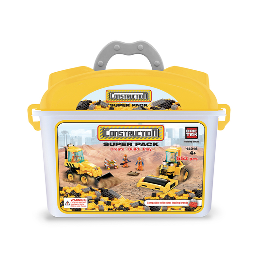 Construction Super Pack - 553 Pieces
