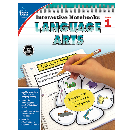 Language Arts Interactive Notebook - Grade 1