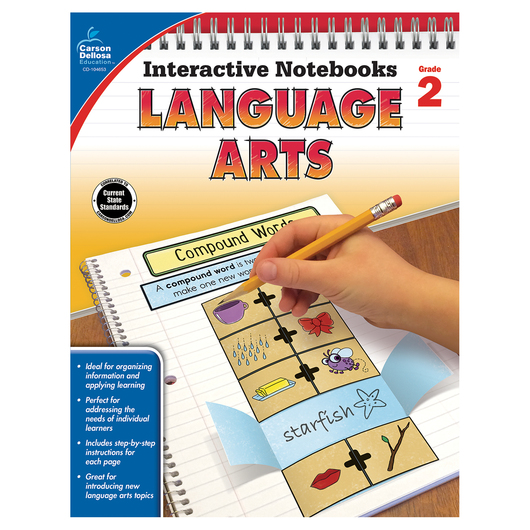 Language Arts Interactive Notebook - Grade 2
