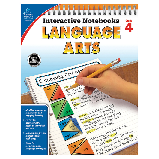 Language Arts Interactive Notebook - Grade 4