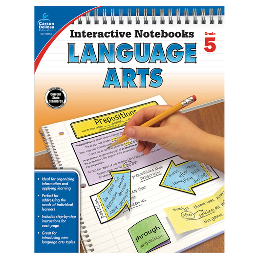 Language Arts Interactive Notebook - Grade 5