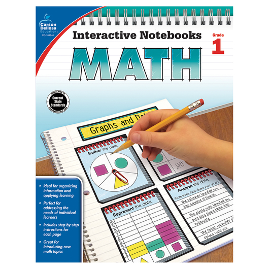 Math Interactive Notebook - Grade 1