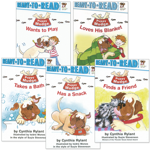 Puppy Mudge Set - 5 Titles - 20 Books and 5 CDs