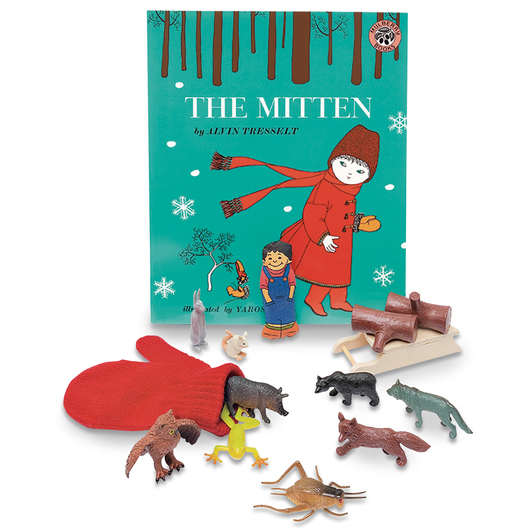 3-D Story Book Set - The Mitten