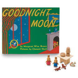3-D Story Book Set, Goodnight Moon