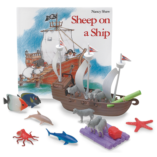 3-D Story Book Set - Sheep on a Ship