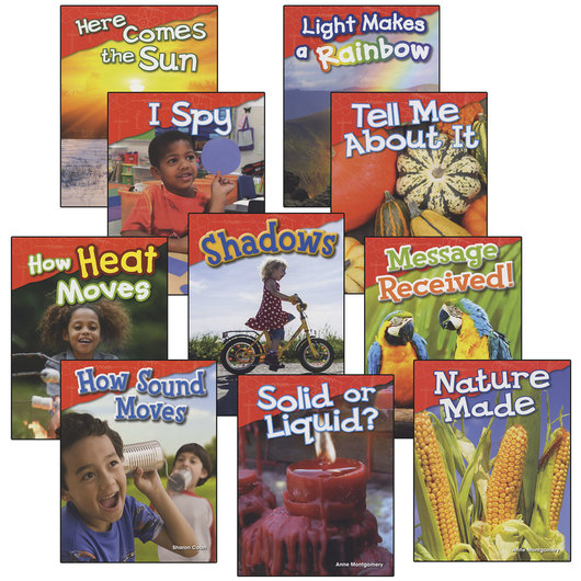 Let's Explore Physical Science - Grades K-1 - Set of 10