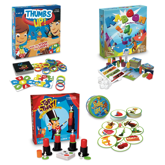 Fast-Action, Quick-Thinking Games - Set of 4