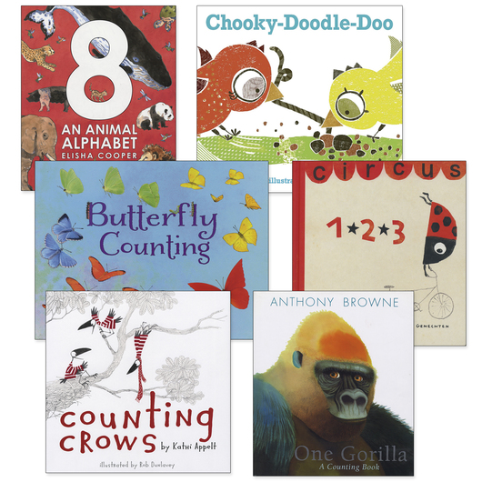 Counting Book Collection - Set of 6