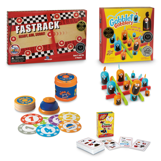 Fast-Action Games - Set of 4