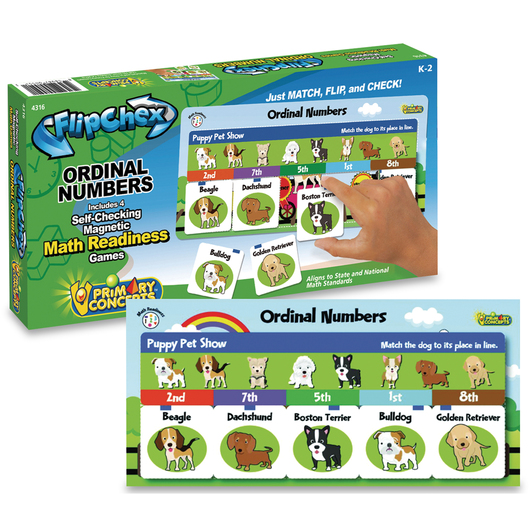 FlipChex Math - Ordinal Numbers