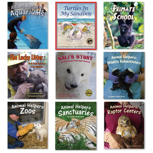 Helping Animals and Changing Habitats Books - Set of 9
