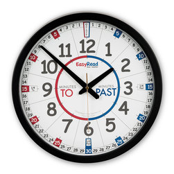 Easy-Read School Yard Clock