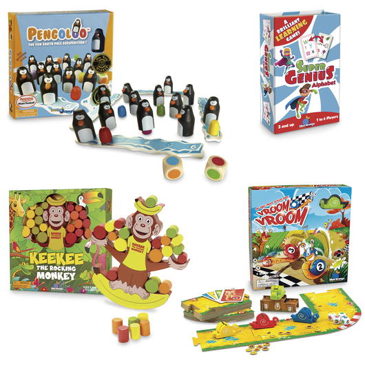 Cooperative Games - Set of 4
