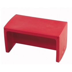 Adapta-Bench® - 30 in. L x 15 in. W x 15 in. - Red