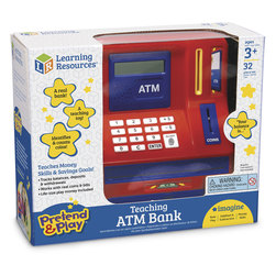 Pretend & Play® Teaching ATM Bank - 8 in. W x 10 in. H