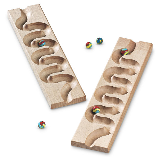 Winding Track Marble Track Set