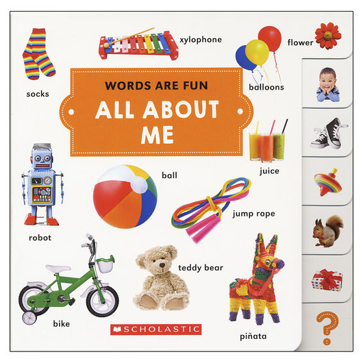 Words Are Fun - All About Me Board Book