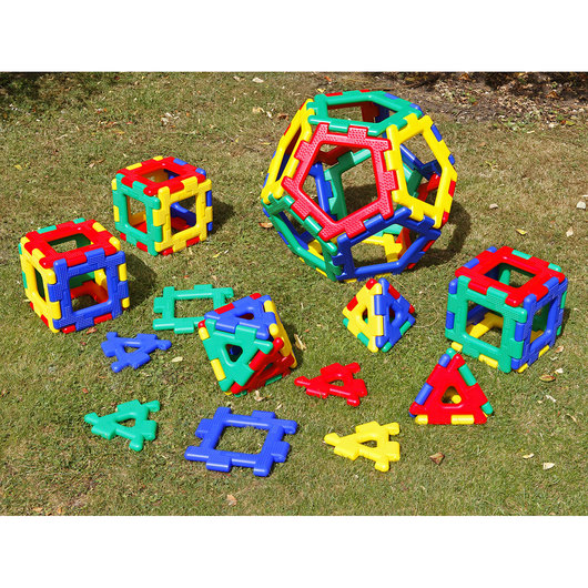 Giant Polydron Platonic Solids