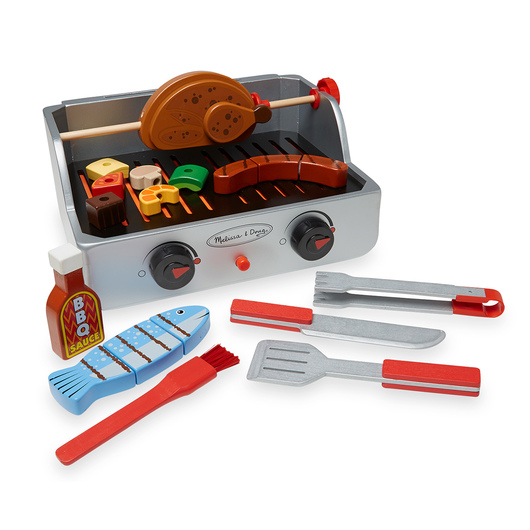 Rotisserie and Grill Barbecue Set - Set of 24