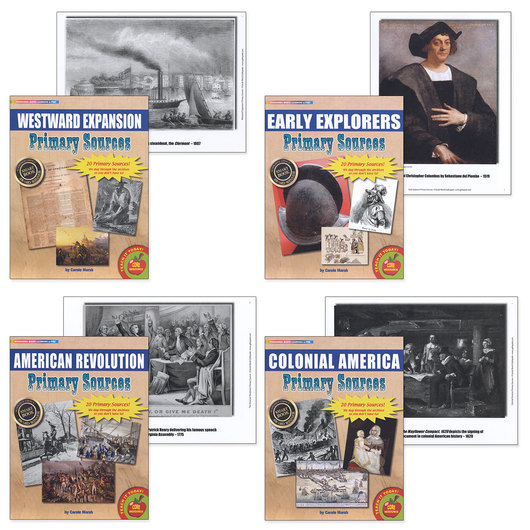 Primary Sources in History Kit - Early American History