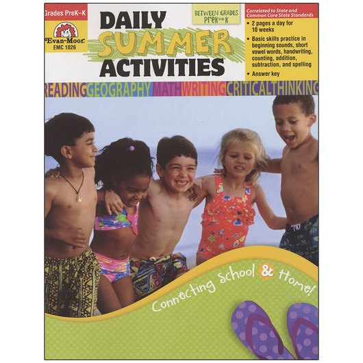 Daily Summer Activities - Moving from PreK to K