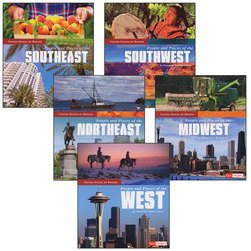 United States by Region Book Set