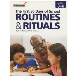 The First 30 Days of School - Routines and Rituals - Grades 3-6