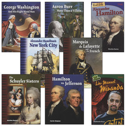 Spotlight on Alexander Hamilton Books - Set of 8