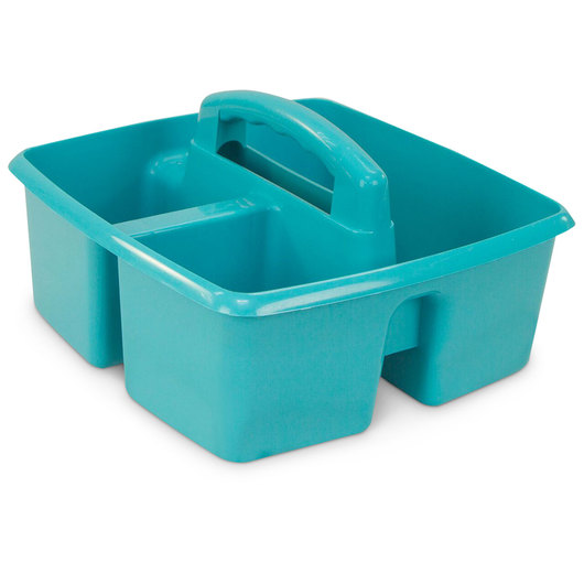 Classroom Caddy - 9-1/4 in. L x 9-1/4 in. W x 5-1/4 in. H -  Teal
