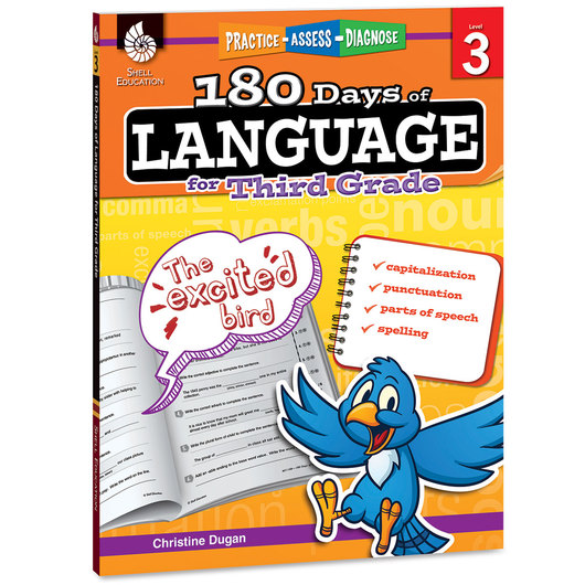180 Days of Language Book - Grade 3