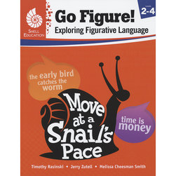 Go Figure! Exploring Figurative Language Book - Grades 2-4
