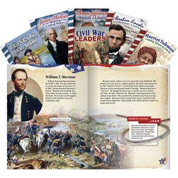 1800s Biographies Book Set