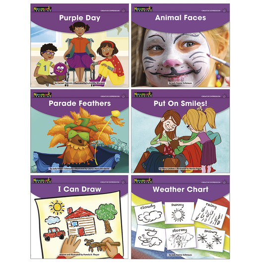 Early Rising Readers Single Copy Book Set - Creative Expression