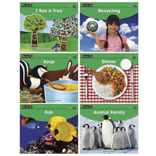 Early Rising Readers Single Copy Book Set - Science