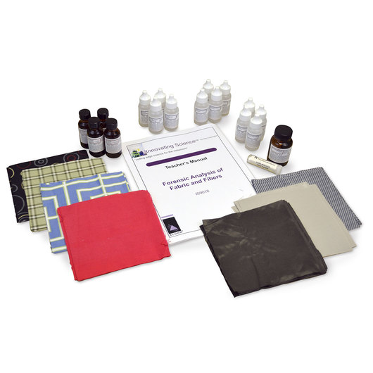 Innovating Science® Forensic Analysis of Fabric and Fibers Kit