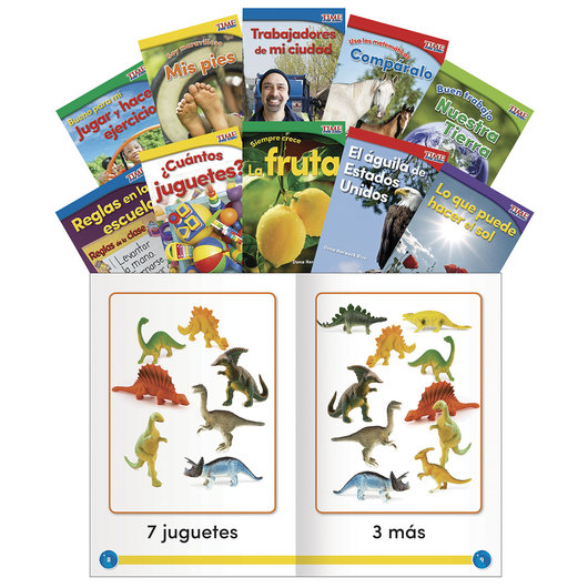 TIME for Kids® Spanish Readers - Set 2